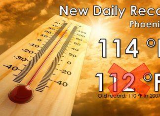 phoenix temperature record, temperature record phoenixNew daily temperature record for Phoenix on August 21 2019