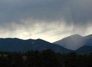 microplastic rain rocky mountains