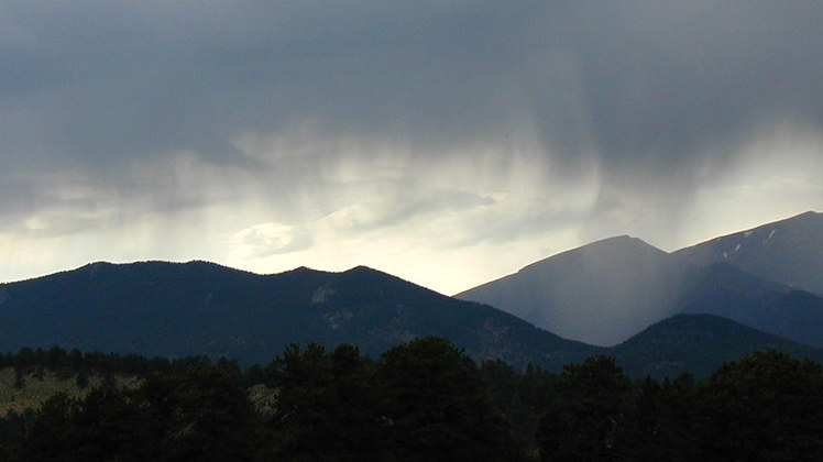 microplastic rain rocky mountains