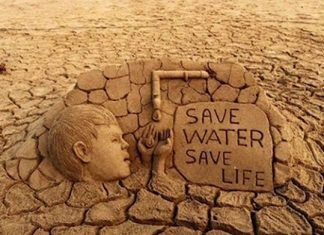 water crisis: save water, save life