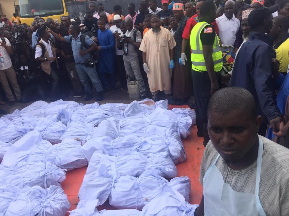27 children dead after islamic school fire liberia,Liberia Mourns Children Killed in Islamic School Fire