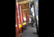 Five Forklifts Tip Over Lifting Rail from a Train Car in 2016