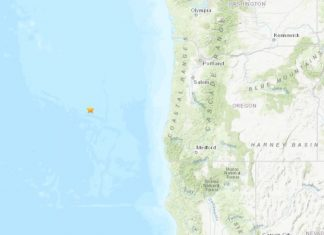 Shallow M5.9 earthquake hits off Oregon coast on September 5 2019, Shallow M5.9 earthquake hits off Oregon coast on September 5 2019 map, Shallow M5.9 earthquake hits off Oregon coast on September 5 2019 update, Shallow M5.9 earthquake hits off Oregon coast on September 5 2019 tsunami