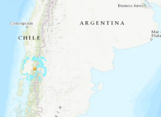 M6.1 earthquake hits Argentina september 26 2019, M6.1 earthquake hits Argentina september 26 2019 map