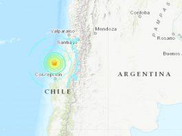 M6.8 earthquake hits Chile September 29 2019, M6.8 earthquake hits Chile September 29 2019 map, M6.8 earthquake hits Chile September 29 2019 video