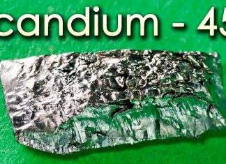 Scandium - A Metal that Produces STRANGE SOUNDS!