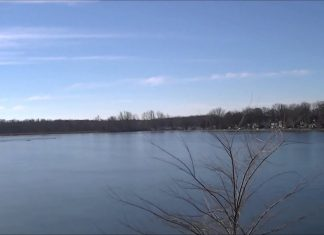 Strange Sounds From the Ice on the Frozen Lake
