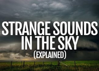Strange sounds in the sky explained by a sound designer