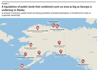 alaska liquidation public land, Huge liquidation of public land currently taking place in Alaska