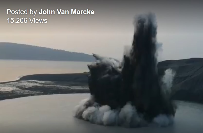 anak krakatau, anak krakatau eruption september 18 2019, anak krakatau eruption september 18 2019 video