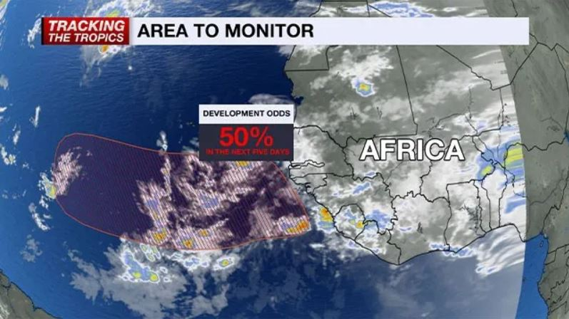 3 tropical waves form in the Atlantic Ocean, 3 tropical waves form in the Atlantic Ocean news, 3 tropical waves form in the Atlantic Ocean september 2019