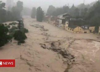 Spain floods devastate south-east Spain in September 2019