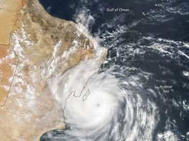 hikaa tropical cyclone engulfs Oman, hikaa oman, hikaa devastates oman, hikaa oman videos, hikaa oman pictures
