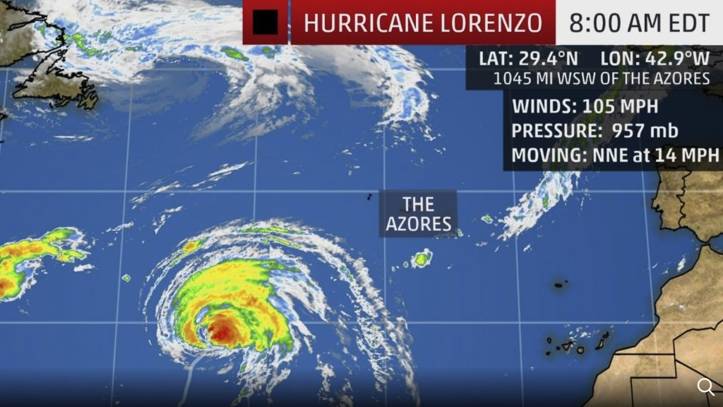 Hurricane Lorenzo forecast, Hurricane Lorenzo forecast map, Hurricane Lorenzo forecast video, hurricane lorenzo news