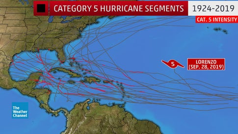 hurricane lorenzo record, Hurricane Lorenzo forecast, Hurricane Lorenzo forecast map, Hurricane Lorenzo forecast video, hurricane lorenzo news