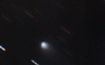 Gemini Observatory Captures Multicolor Image of First-ever Interstellar Comet