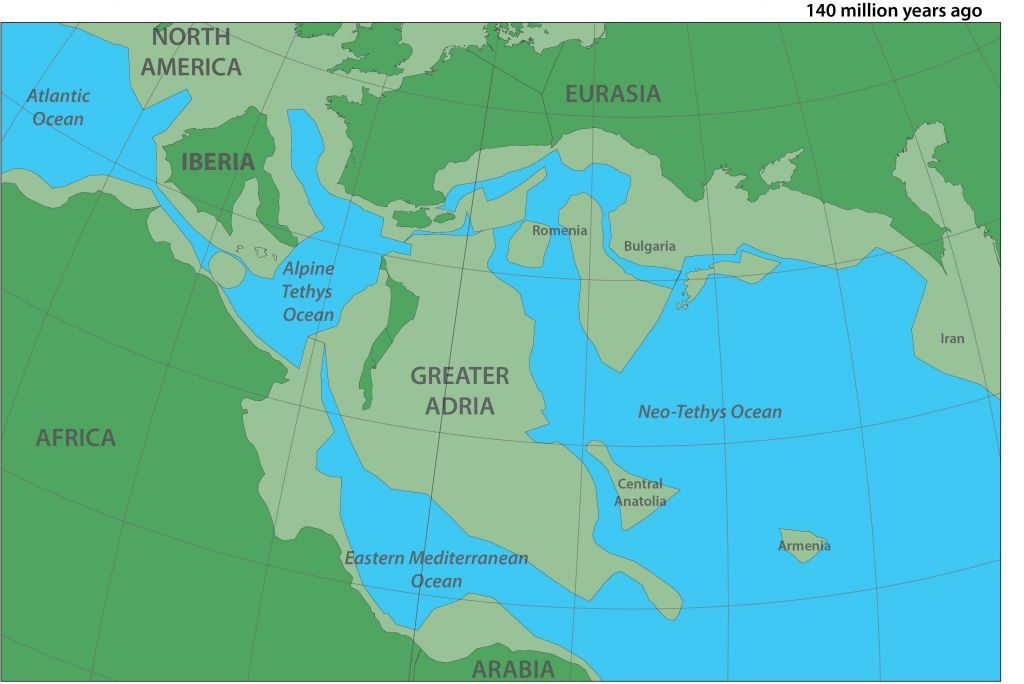 lost continent hidden under europe, greater adria, greater dria: lost continent hidden under europe