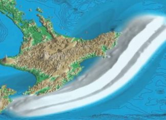 methane seeps new zealand, methane seeps new zealand landslide and tsunami, methane seeps new zealand linked to earthquakes
