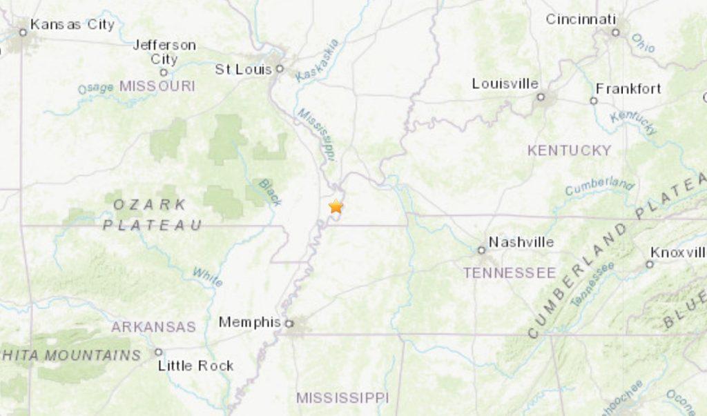 New Madrid Fault Zone in Missouri on September 26 2019, New Madrid Fault Zone in Missouri on September 26 2019 map, New Madrid Fault Zone in Missouri on September 26 2019 news