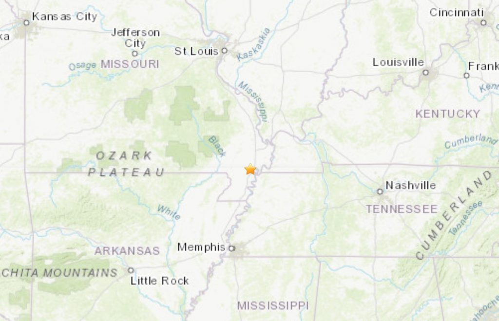 M3.1 earthquake hits New Madrid Fault Zone in Missouri on September 26 2019, M3.1 earthquake hits New Madrid Fault Zone in Missouri on September 26 2019 map, M3.1 earthquake hits New Madrid Fault Zone in Missouri on September 26 2019 news