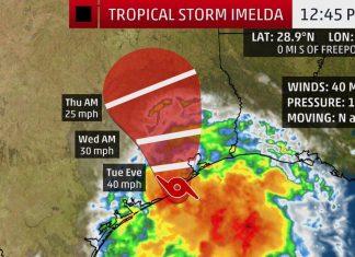 tropical storm imelda, tropical storm imelda texas, tropical storm imelda houston, tropical storm imelda september 2019