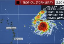 tropical storm jerry,Tropical storm Jerry expected to become Hurricane