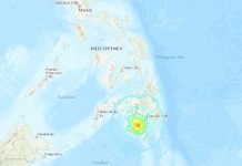 M6.4 earthquake hits the Philippines on October 16 2019, M6.4 earthquake hits the Philippines on October 16 2019 map, M6.4 earthquake hits the Philippines on October 16 2019 photo, M6.4 earthquake hits the Philippines on October 16 2019 video