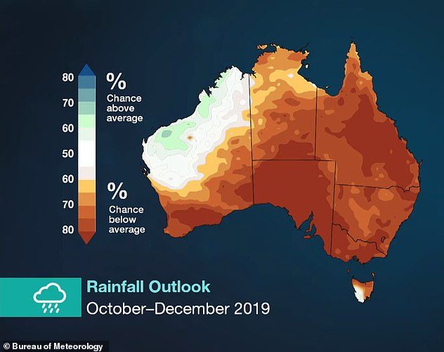 australia deadly heatwave from hell, low precipitation australia forecast