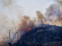 california fires blackouts, manmade blackouts california fires, California is burning in the dark