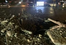 fort worth lightning hole in ground, fort worth lightning hole in ground video, fort worth lightning hole in ground pictures, Lightning creates huge crater in Fort Worth parking lot, Lightning creates huge crater in Fort Worth parking lot october 30 2019