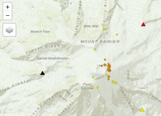 mount rainier news, why is mount rainier jolting, earthquake mount rainier,mount rainier earthquake swarm october 2019, mount rainier earthquake swarm october 28-30 2019
