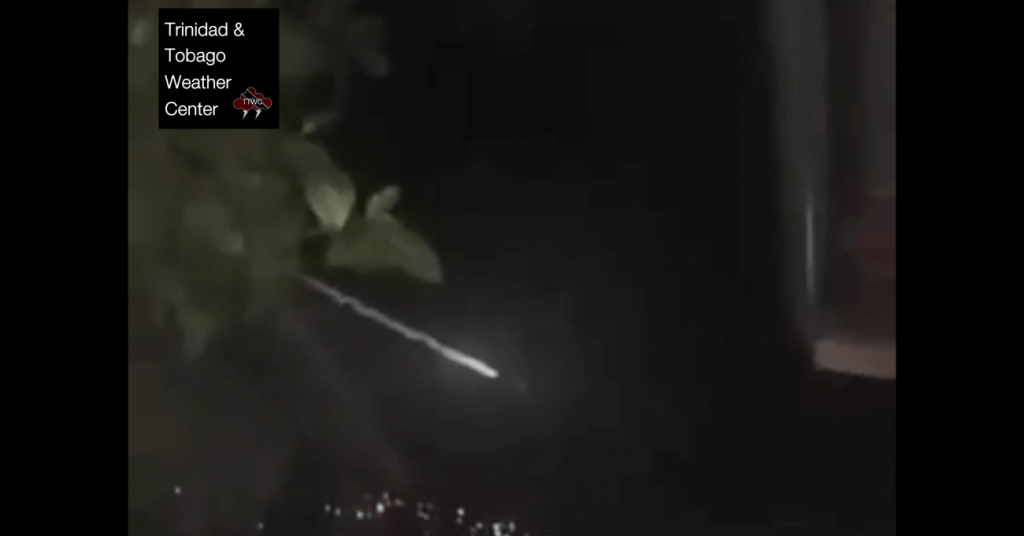 mysterious meteor fireball trinidad and tobago october 15 2019, mysterious meteor fireball trinidad and tobago october 15 2019 pictures, mysterious meteor fireball trinidad and tobago october 15 2019 video