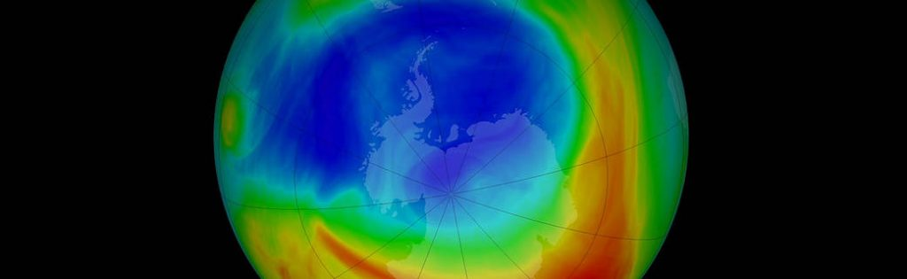 The ozone hole over Antarctica is the smallest on record