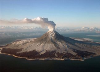 10000 years volcanic eruption video