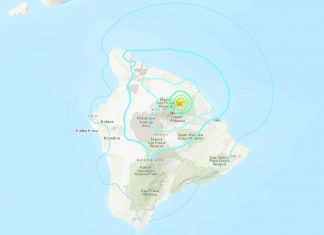 M4.9 earthquake hits Mauna Kea on Hawaii's Big Island on November 11 2019