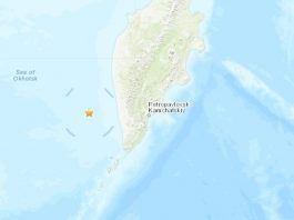 A strong and very deep earthquake hit off the coast off Kamchatka Peninsula on November 20, 2019.