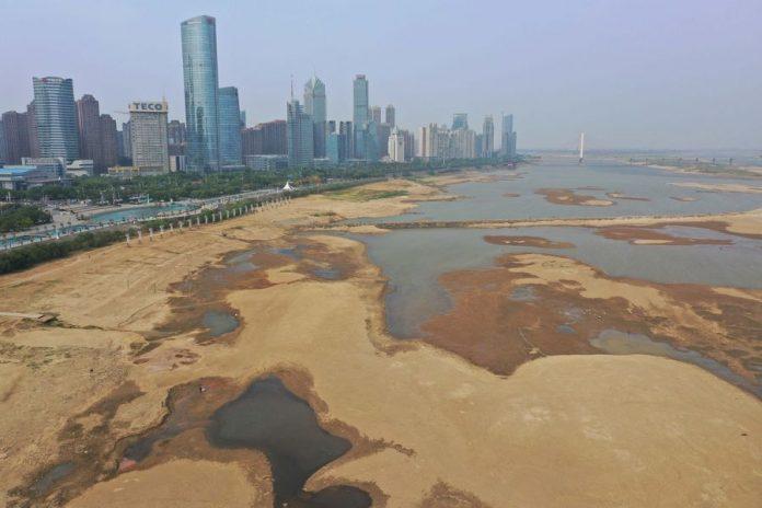 china yangtze river drought, china yangtze river drought november 2019, china yangtze river drought video, china yangtze river drought photo, china yangtze river drought news
