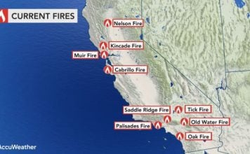 current california fires, what are the current fires in California, california fire map, map of california wildfire