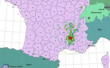 M5.1 earthquake hit southern France on November 11 2019, earthquake france november 11 2019, earthquake france map, earthquake map france november 2019, tremblement de terre france november 11 2019