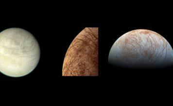 europa water vapor, jupiter moon europa water vapor, europa water vapor jupiter, Scientists have discovered water vapor on the surface of Europa