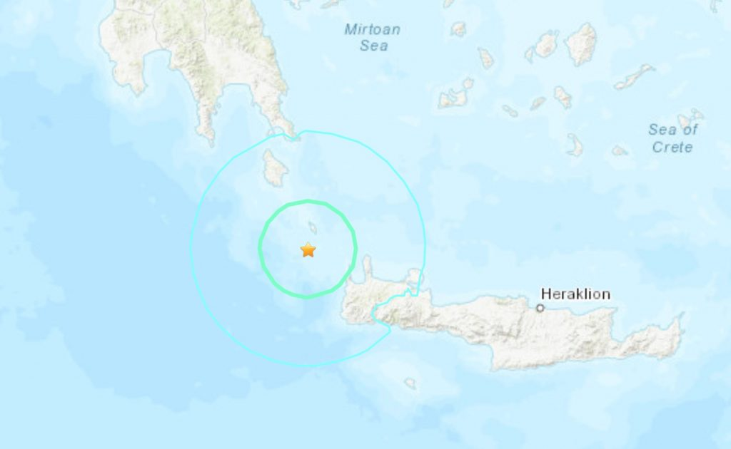 A strong M6.0 earthquake hit Greece on Nov 27, greece earthquake nov 27 2019
