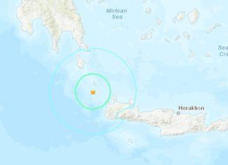 A strong M6.0 earthquake hit Greece on Nov 27, greece earthquake nov 27 2019