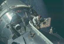 A former NASA astronaut recalled the incident when the Apollo 9 spacecraft almost got hit by an asteroid.