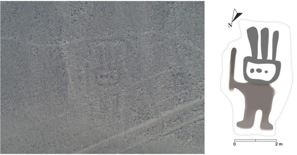nueva línea de Nazca con forma humanoide descubierta en el desierto peruano, nueva línea de Nazca con forma humanoide descubierta en la imagen del desierto peruano, nueva línea de Nazca con forma humanoide descubierta en el video del desierto peruano, nueva línea de Nazca con forma humanoide descubierta en el desierto peruano noviembre de 2019