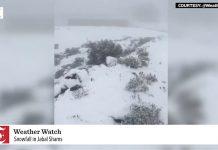 oman snow, oman snow video, oman snow pictures, oman snow november 2019
