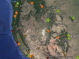 spike in radioactivity usa november false flag nuclear attack west usa, spike in radioactivity usa november false flag nuclear attack west usa map