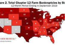 us farm bankruptcies increase, us farm bankruptcies increase usa, us farm bankruptcies increase map, map us farm bankruptcies increase