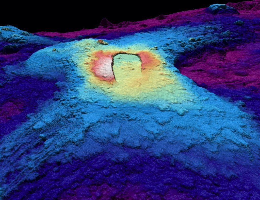 Axial Seamount, Axial Seamount underwater volcano,Axial Seamount 3D images, Axial Seamount eruption, Axial Seamount 3d images, Axial Seamount scan