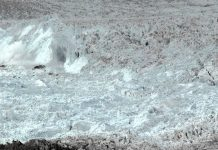 CHASING ICE captures largest glacier calving ever filmed