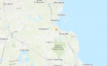 A M2.1 earthquake hit near Pilgrim nuclear plant in Plymouth in Massachusetts on December 2 2019, A M2.1 earthquake hit near Pilgrim nuclear plant in Plymouth in Massachusetts on December 2 2019 map, A M2.1 earthquake hit near Pilgrim nuclear plant in Plymouth in Massachusetts on December 2 2019 concerns